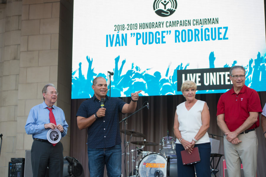Ivan Rodriguez Honorary Campaign Chairman