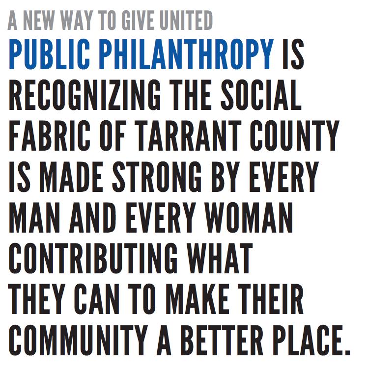 Public Philanthropy