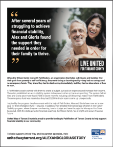 Read more about Alex and Gloria's story